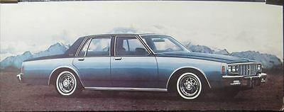 1980 Chevrolet Impala Showroom Picture Poster 135419-4WNS1L