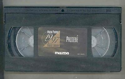 1997 Mazda Protege VHS Video Cassette Tape 141652-SZJ9O9