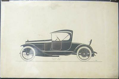 1916 Benz Healey Custom Roadster Styling Artwork 152114-8QT3BH