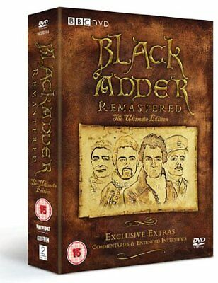 BLACKADDER THE ULTIMATE COMPLETE  EDITION Series 1-4 SEALED/NEW collection 1 4