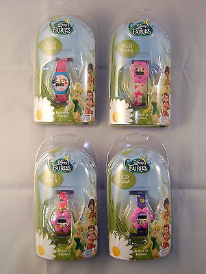 ONE Disney Fairies LCD Watch Featuring Tinkerbell
