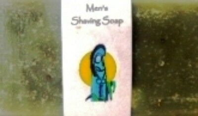 Volcanic Earth Men's Shaving Soap with 100% Pure Tamanu Oil