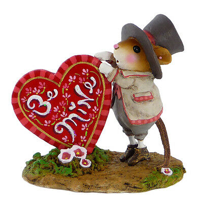 WILL YOU BE MINE? by Wee Forest Folk,  WFF# M-424a, Limited Edition