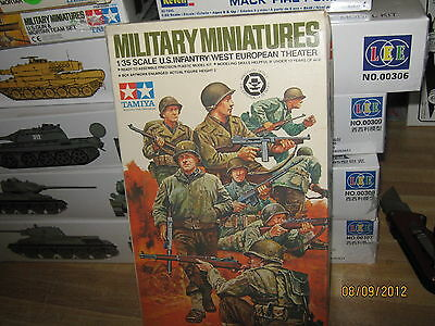 Tamiya WWII US Army (InfantrySet) West European Theater-1/35 Scale-FREE SHIPPING