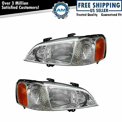 Headlights Headlamps Left Right Pair Set NEW For 99 01 Acura TL