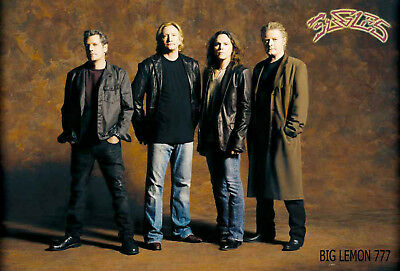The Eagles Rock Band Music Paper Poster #3
