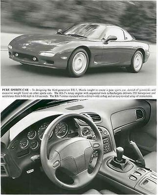 1986 Mazda RX 7 Automobile Photo Poster zaa1161-NGYPB5