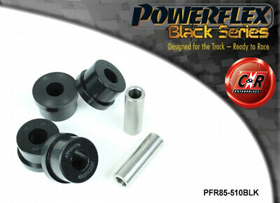 Seat Altea 5P 04 on Powerflex Black Rear Lower Spring Mounts Inner PFR85-510BLK