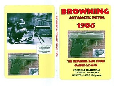 Browning 1906 - 6.35mm/.25 cal Baby Pistol