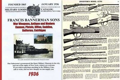Bannerman 1936 Surplus Full Catalog