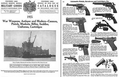Bannerman 1925 Francis & Sons Gun Catalog