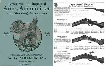 Stoeger 1932- No. 18 Arms, Ammunition and Shooting Accessories