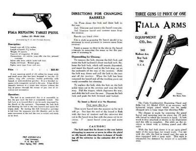 Bacon Fire Arms and Cartridges Flyer c1864