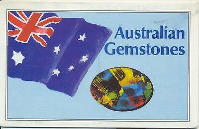 Gemstones stamps Australia in SCARCE special post office pack, only 500 done