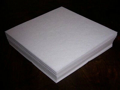 50 precut sheets Tear Away Machine Embroidery Stabilizer Backing 6x6 inches