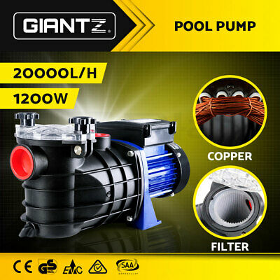 600W Swimming Pool Pump Electric Selg Priming Spa Water Filter Low Noise