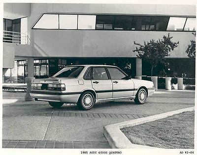 1985 Audi 4000S Quattro Automobile Photo Poster zaa3404-B6QGTI