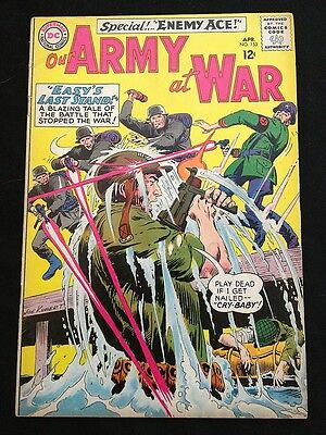 OUR ARMY AT WAR #153 VG+/F- Condition