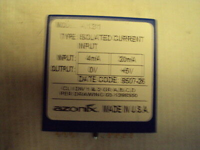 A131 Azonix Isolated Current Input 4-20ma out: 0 to +5V