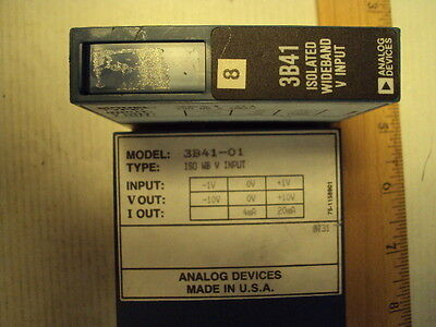 3B41-01 Analog Devices Isolated Wideband Volt Input In:-1 to +1V Out:-10 to +10V
