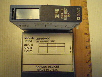 3B46-00 Analog Devices Isolated Frequency Input
