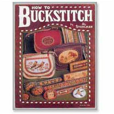 How To Buckstitch Book Al Stohlman 61946-00 by Tandy Leather