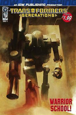 Transformers Generations #1 Ashley Wood Cover Idw Publishing Comic