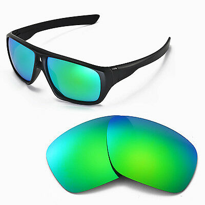 New Walleva Polarized Emerald Replacement Lenses For Oakley Dispatch Sunglasses