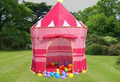 New Kids Children Pop Up Princess Castle Tent Game Playhouse Girl Fairy Tale