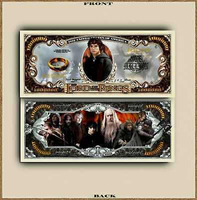 Lord Of The Rings Million Dollar Bill Money Play