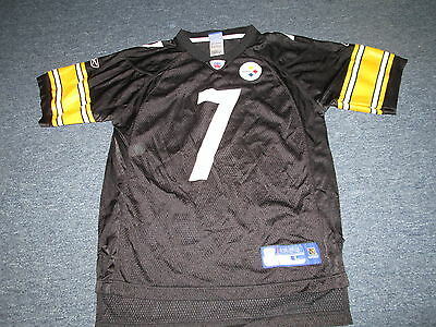 c61d1c51e Reebok Nfl Pittsburgh Steelers Ben Roethlisberger Jersey Black Size Youth L
