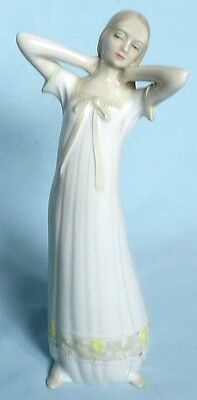 Royal Doulton Lady Figurine Daybreak Hn3107 From Reflection Series