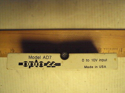 AD7 Analog Devices 0 to 10 volt input opto-22