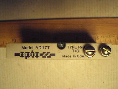 AD17T Analog Devices Type R/S thermocouple in opto-22