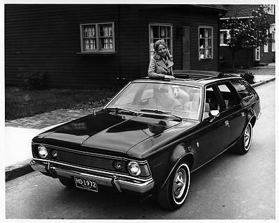 1972 AMC Hornet Sportabout Factory Photo ad7649-63O6MM