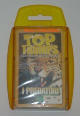 Top Trumps Cards - I Predatori