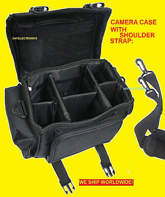 LARGE CAMERA BAG CASE for NIKON DSLR D5200 D 5200 D5300 D5100 D5000 DIGITAL SLR