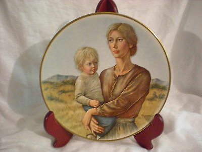 Irene Spencer PROMISES TO KEEP Gorham fine china Collectors Plate 1974
