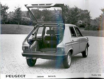 1979 Peugeot 104 Berline SL ORIGINAL Factory Photo aa1005-8156QF
