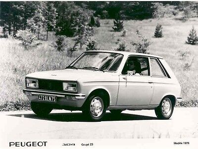1976 Peugeot 104 Coupe ZS ORIGINAL Factory Photo aa2658-AK9EK2