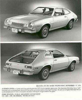 1977 Ford Pinto ORIGINAL Factory Photo aa3133-WC31H9