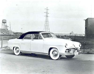 1951 Frazer Manhattan Convertible Factory Photograph aa7861-O7ZH1I