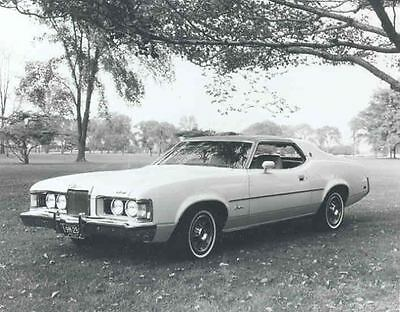 1973 Mercury Cougar XR7 Coupe Factory Photograph aa7915-XZTCYJ
