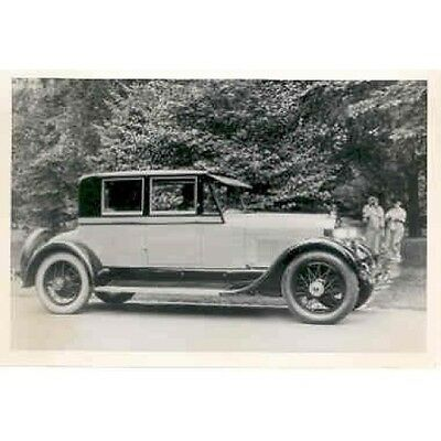 1925 Lincoln Model 143 Coupe  Factory Photo ab2009-UL79G4