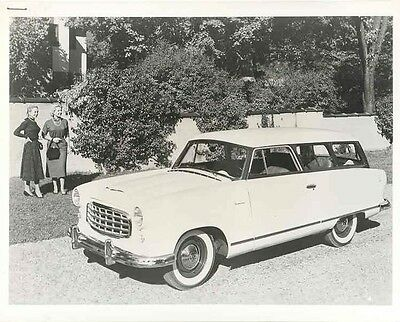 1955 AMC Rambler ORIGINAL Factory Photo ab8200-WQG4H2