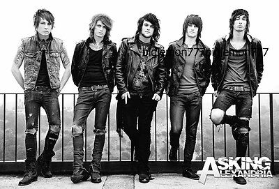 "ASKING ALEXANDRIA MUSIC POSTER #2 23""x34"""