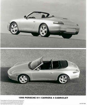 1999 Porsche 911 Carrera 4 Cabriolet ORIGINAL Factory Photo ac5341-H1IYZG