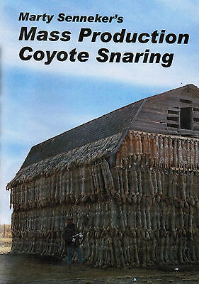 DVD-Senneker-Mass Production Coyote Snaring,Trapping traps fur