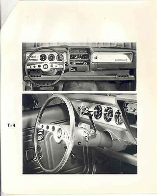 1970 AMC Hornet Interior ORIGINAL Factory Photo H2681-8UYANP