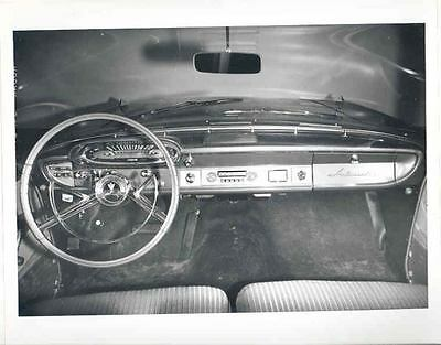 1961 AMC Rambler Ambassador Interior ORIGINAL Factory Photo H332-84MU7Q